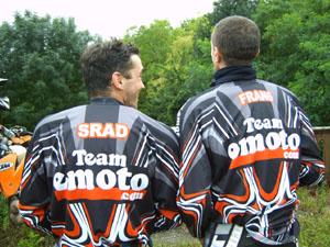 Maillots TT Team Emoto